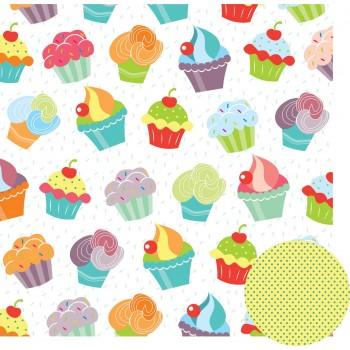 Feliz Aniversário - Cupcakes
