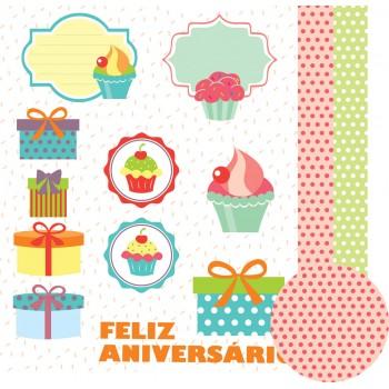 Feliz Aniversário - Recortes