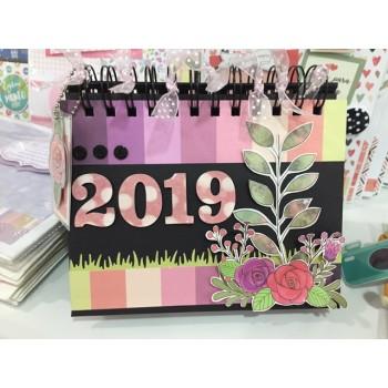 KiT Calendário de Mesa 2019
