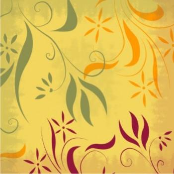 Flama Amarelo Arabesco