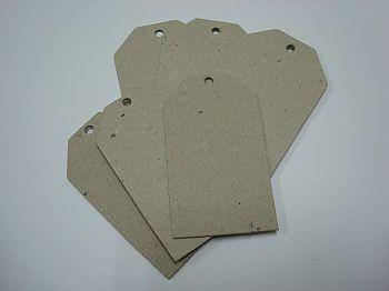 Tags - Retangular - embalagem com 6 unidaddes