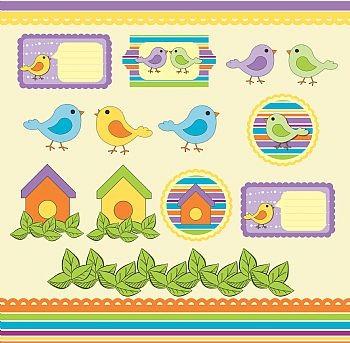 Petit Oiseau - Recortes