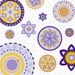 Jardim Apipucos Lilás Mosaico