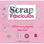 Scrap Fascículos N° 8 - Pinte seus projetos - Megui Assano