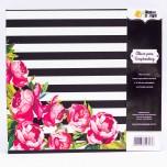Álbum Pino G floral Rosé
